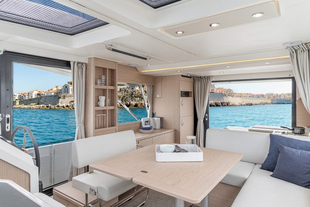 Beneteau Swift Trawler 41 — Interior Design