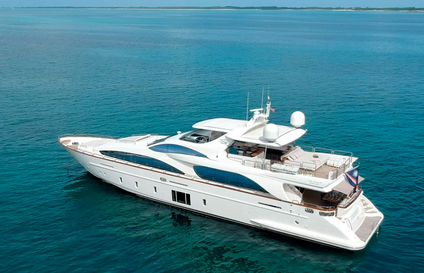 Luxury Yacht For Charter: 105' Azimut Grande | ANDIAMO! - photo 2