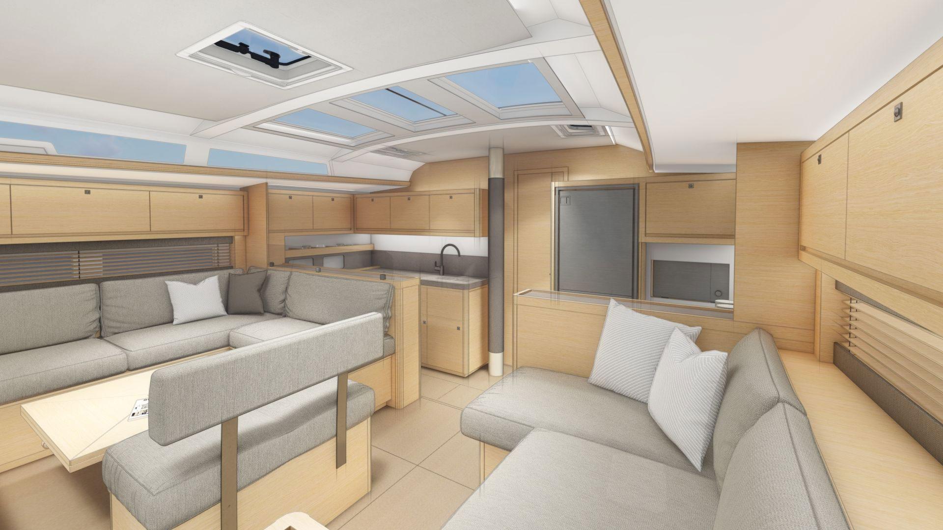 Dufour 530 Interior