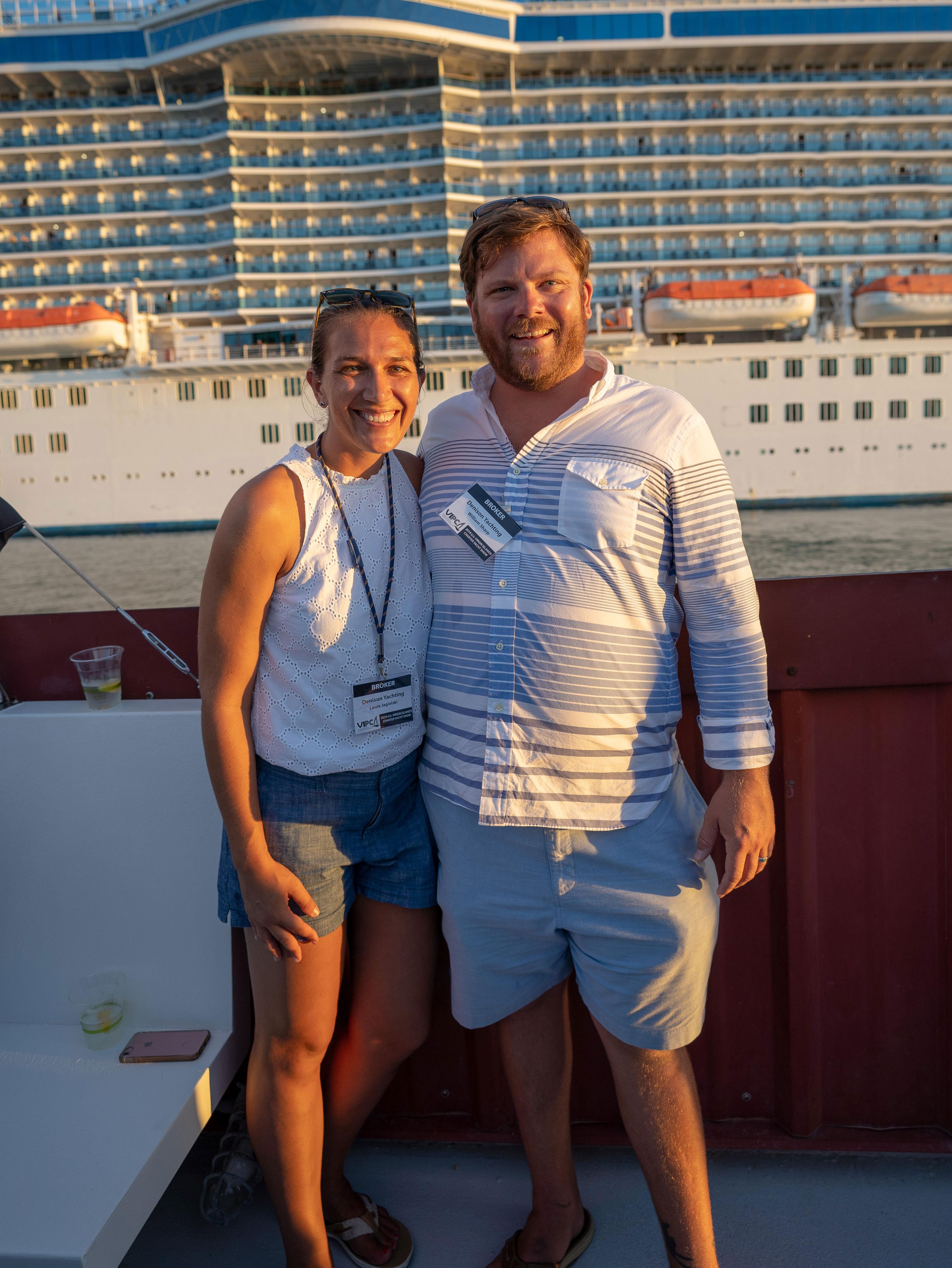 BVI and USVI Charter Yacht Shows 2019 Wiley Sharp Laura Jagielski