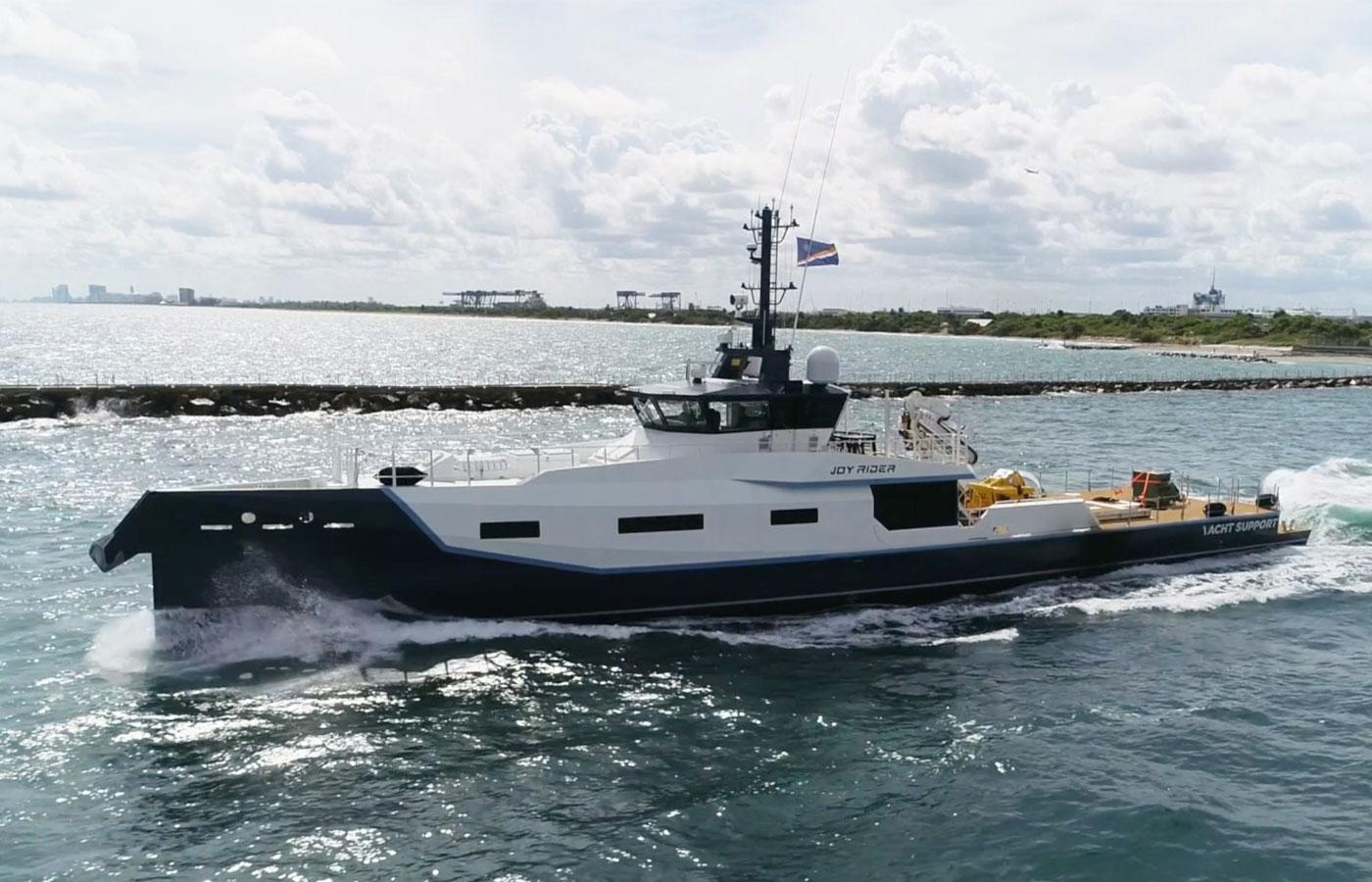JOY RIDER Damen Sea Axe Support Vessel [Yacht Review]