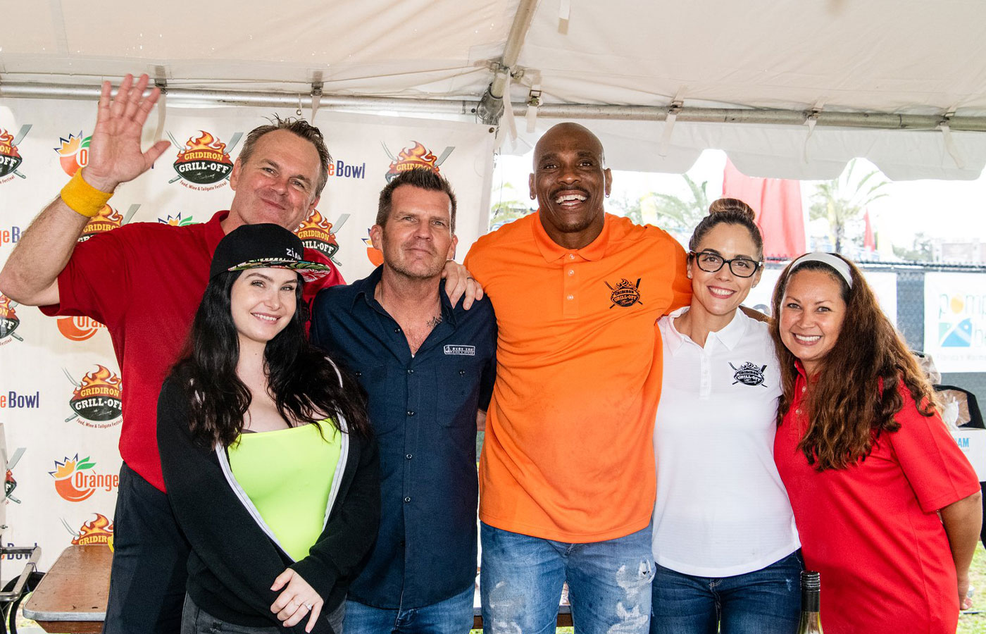 Denison sponsor Gridiron Grill-Off Food Wine and Music Festival