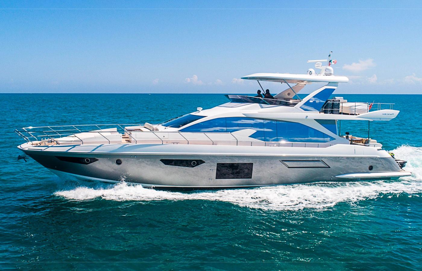 Yacht Walkthrough: Azimut 72 Flybridge [Yacht Highlight]