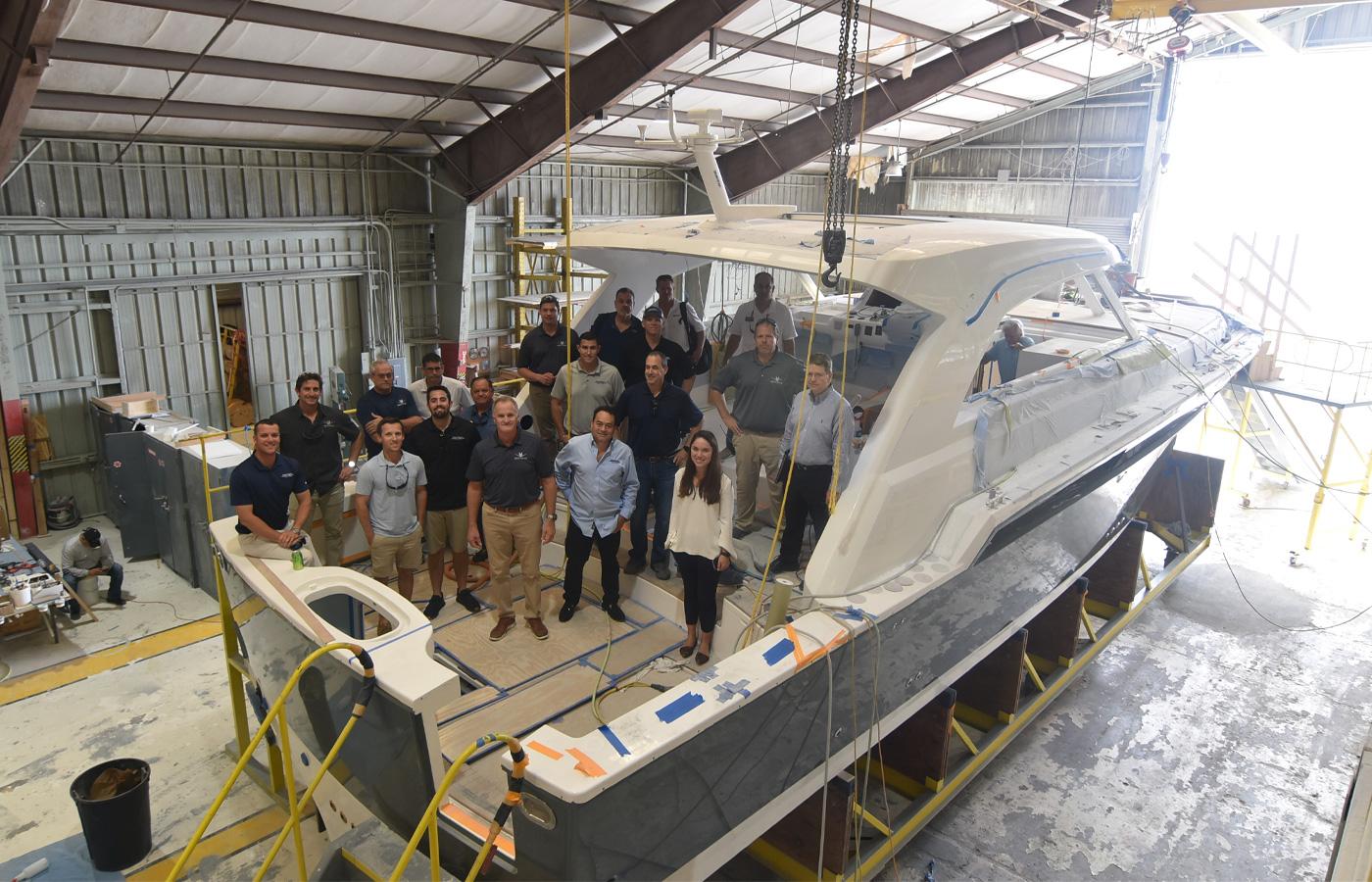 Bertram Shipyard Tour Tampa