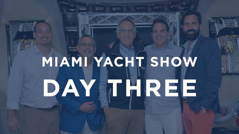 miami yacht show day 3