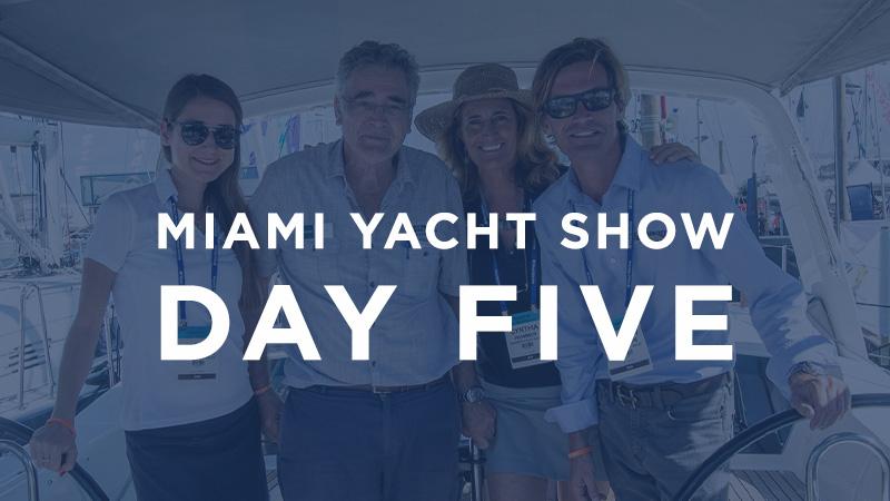 miami yacht show day 5