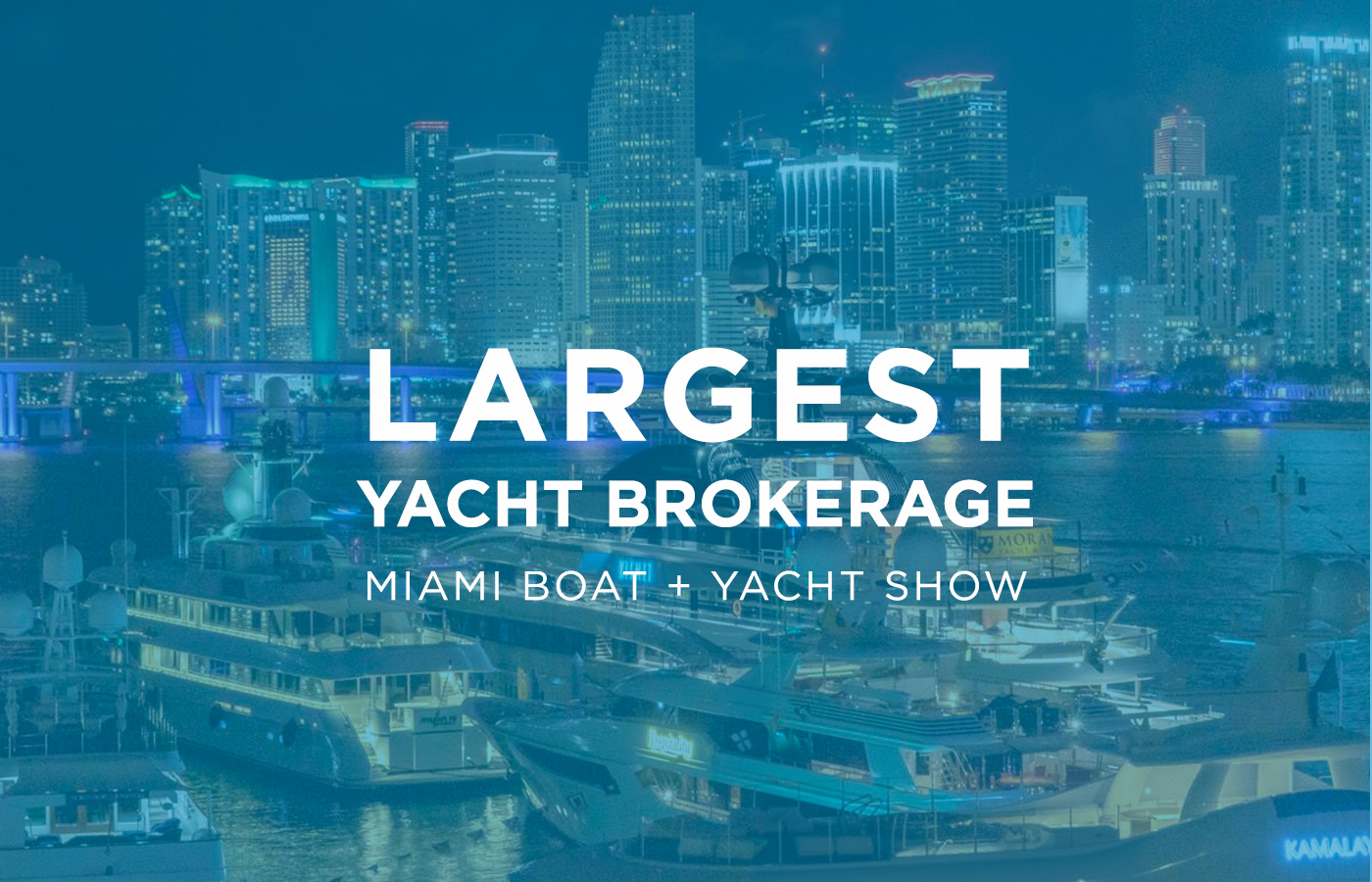 Denison As Largest Dealer At Miami Boat + Yacht Show