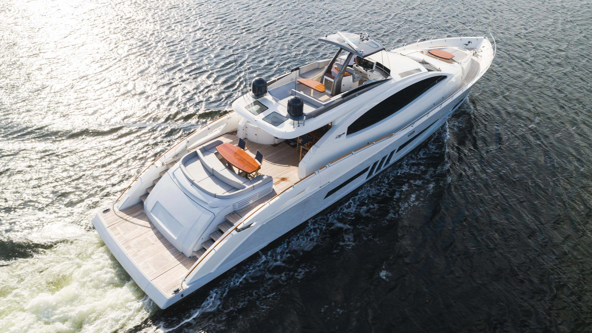 Luxury Yacht Charter: HELIOS | 92' Lazzara 2012 - photo 1