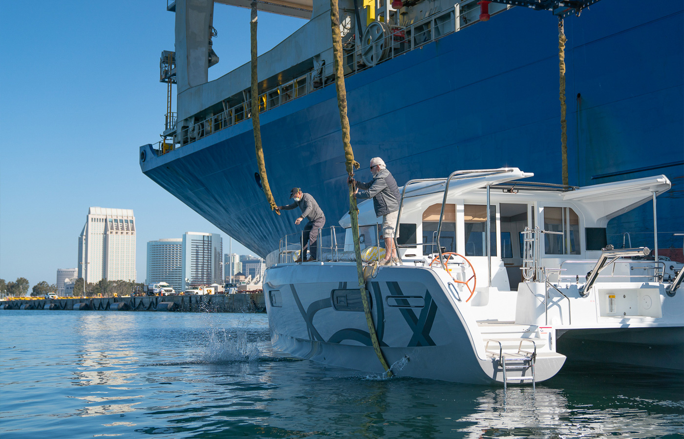 Excess Catamaran Delivered To San Diego [New XCS12 For Sale]