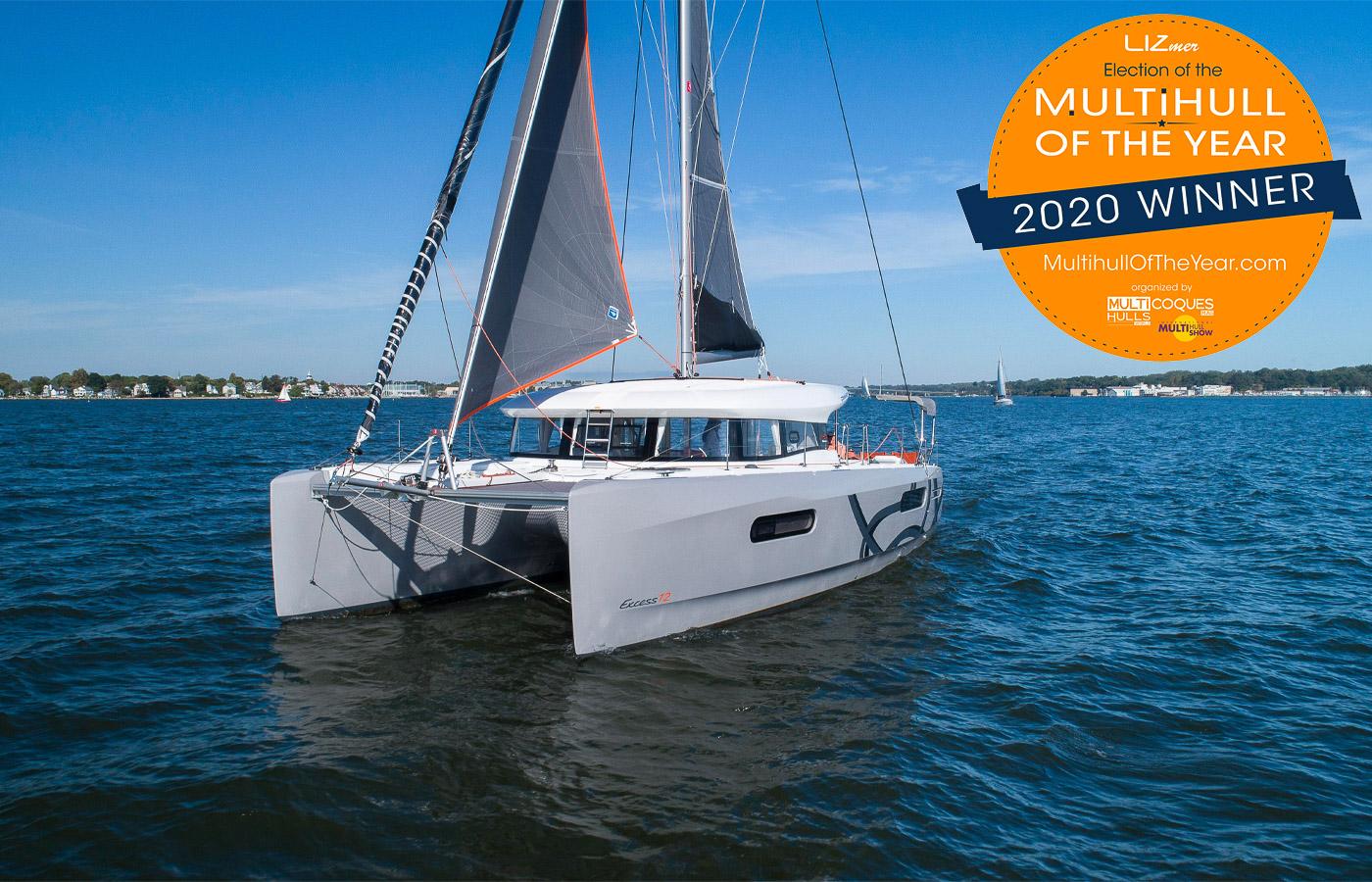 Excess 12 Catamaran Wins Multihull Of The Year [Yacht Highlight]