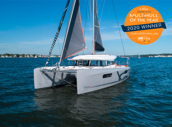 Excess 12 Catamaran Wins Multihull Of The Year [Yacht Highlight]