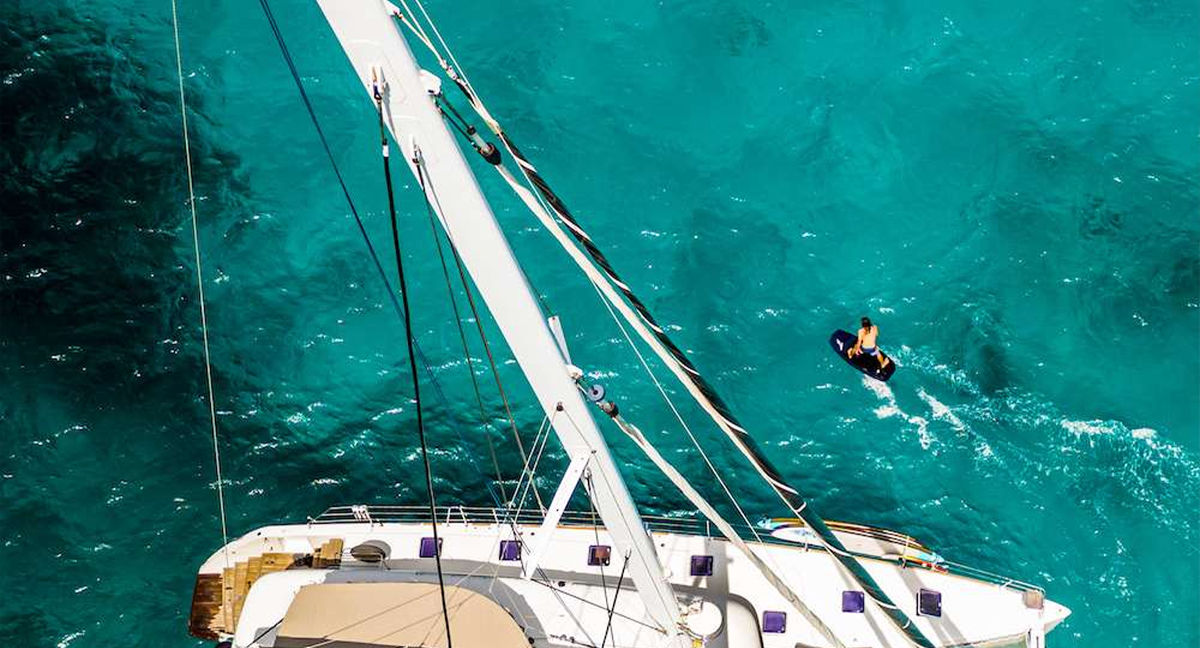 yacht charter watersports