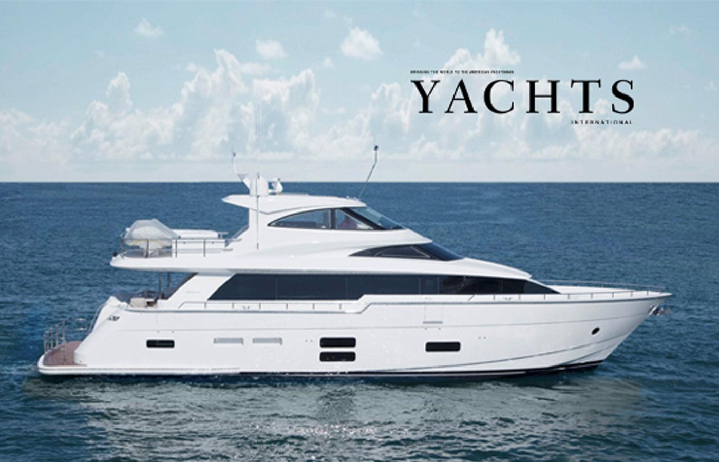 Hatteras 70 Motor Yacht Enclosed Bridge [Boat Review]
