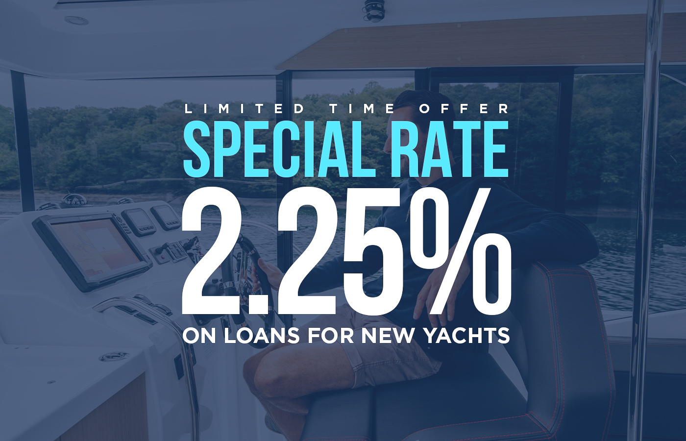 Record Low Interest Rate For Boat Loans [New Yachts]