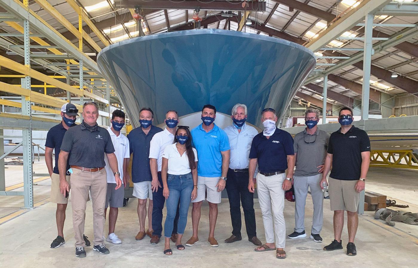 Bertram Yachts Builds New 39′ Center Console [Shipyard Tour]