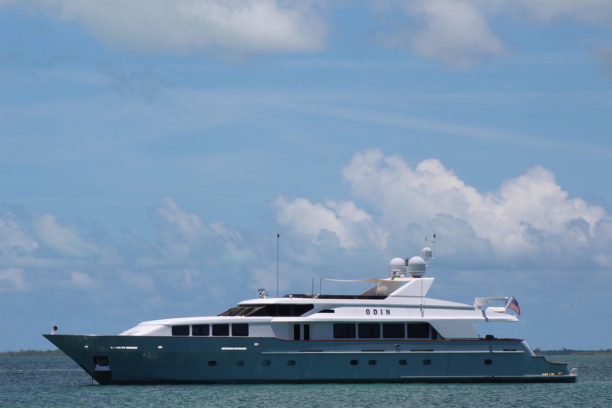 Luxury Yacht Charter: ODIN   126' Trinity 2001  - photo 1