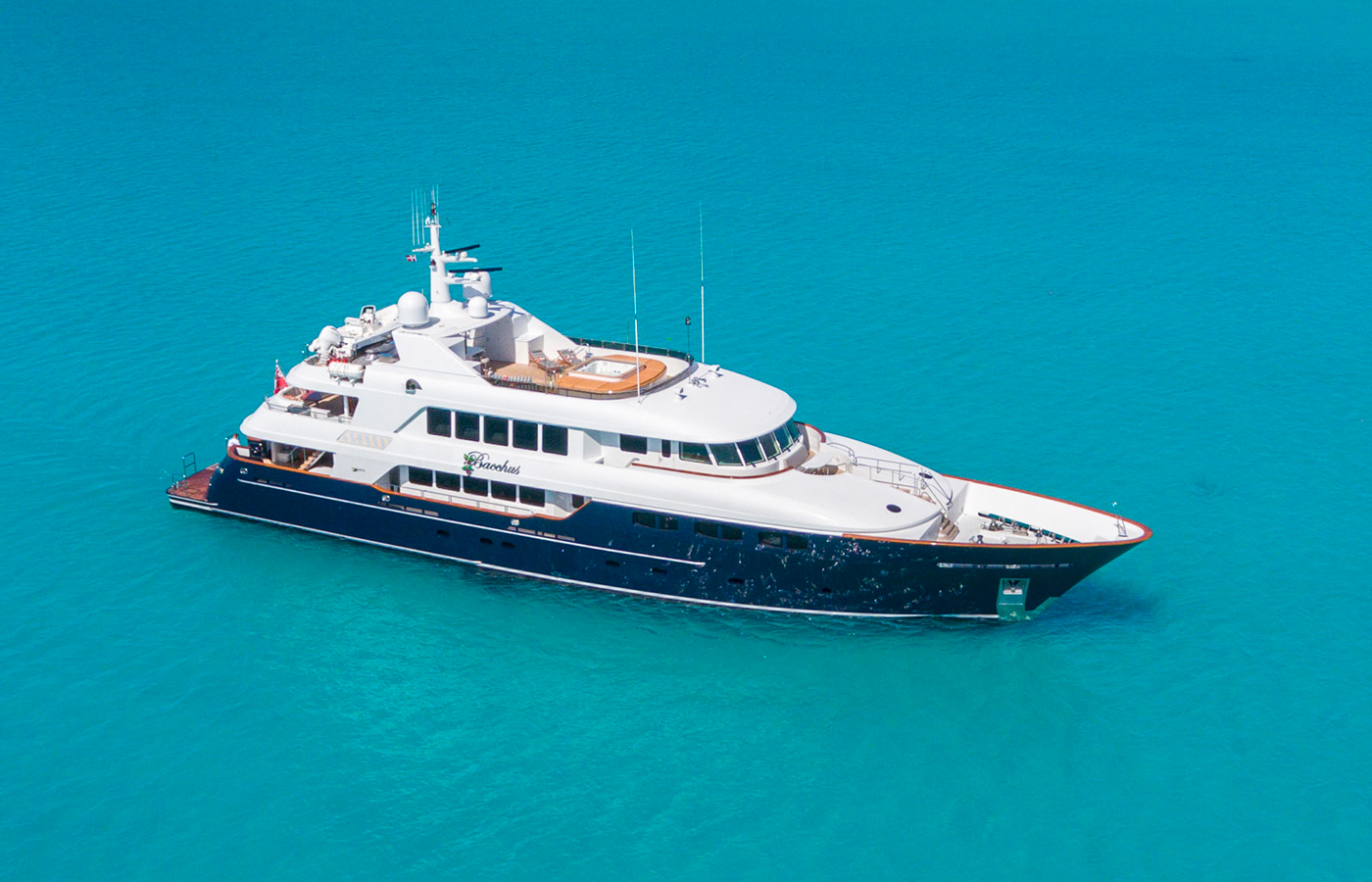 Trinity Superyacht BACCHUS Sold By Yacht Broker Chris Daves