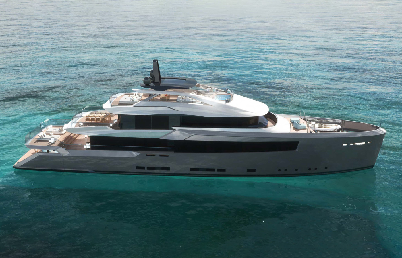 Dickie Bannenberg Debuts New Superyacht At Virtual Boat Show