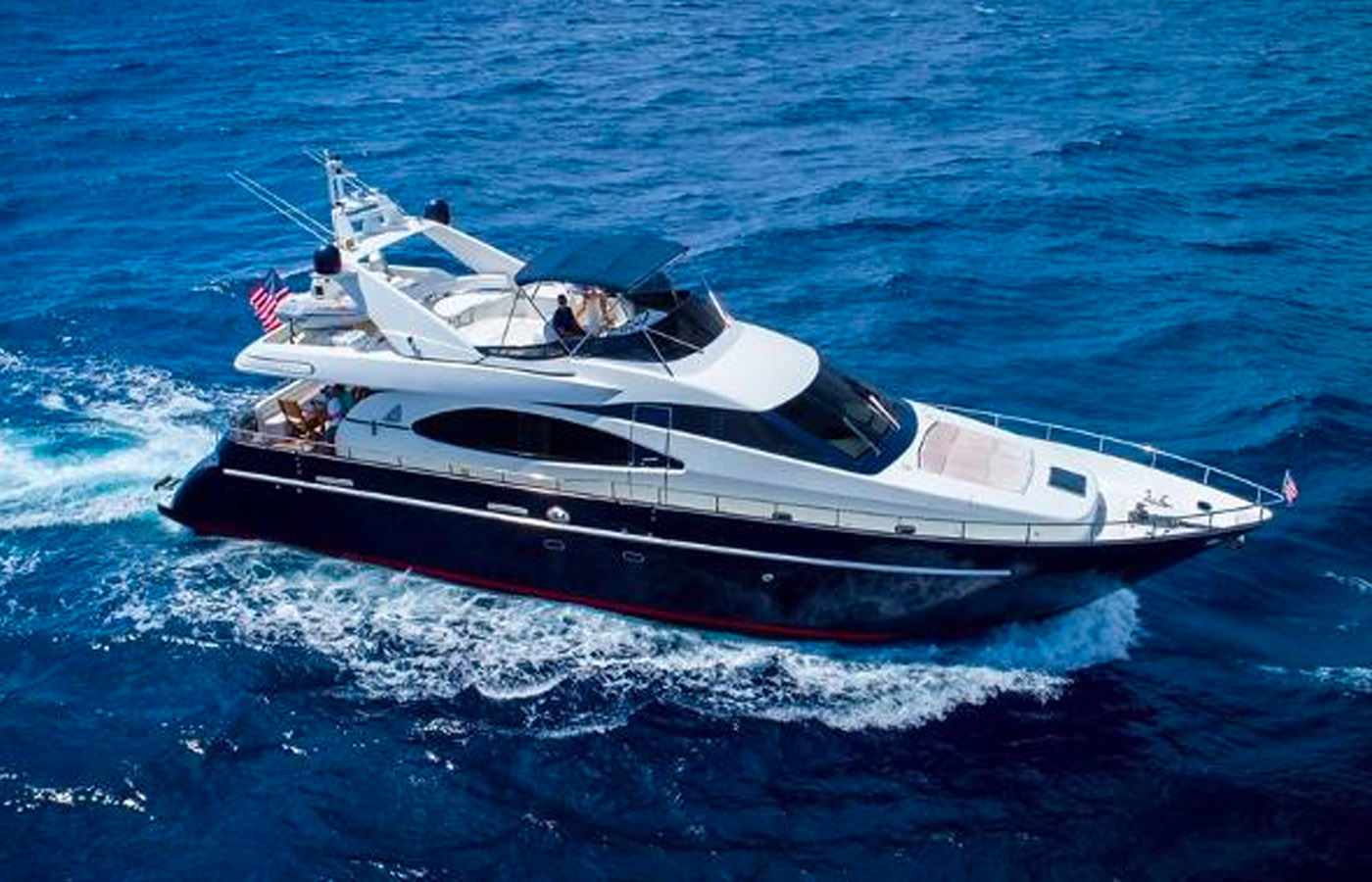 Azimut 70′ CORMORANT Sold By Yacht Broker Will Noftsinger