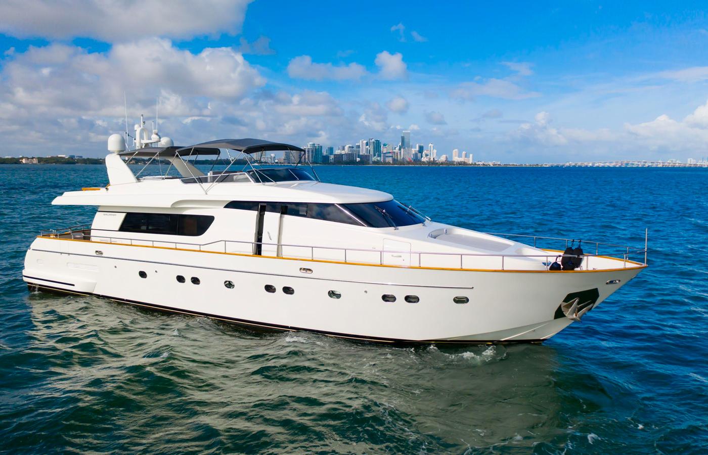 Sanlorenzo 82 JERICO Sold By Yacht Broker Sidney Ambroise