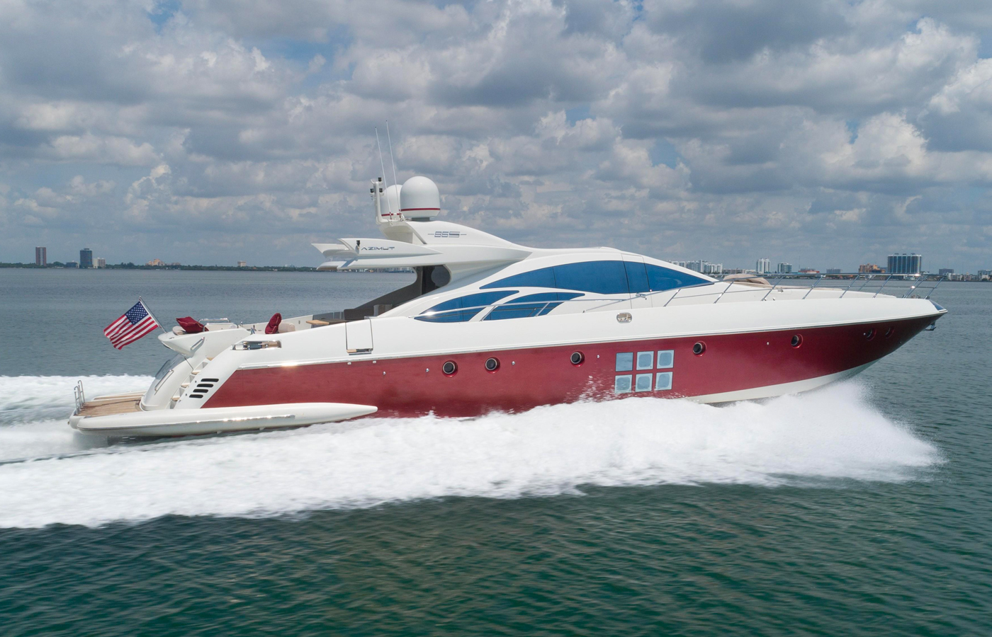 Azimut 86 SCARLET Sold By Yacht Broker Mike Kiely