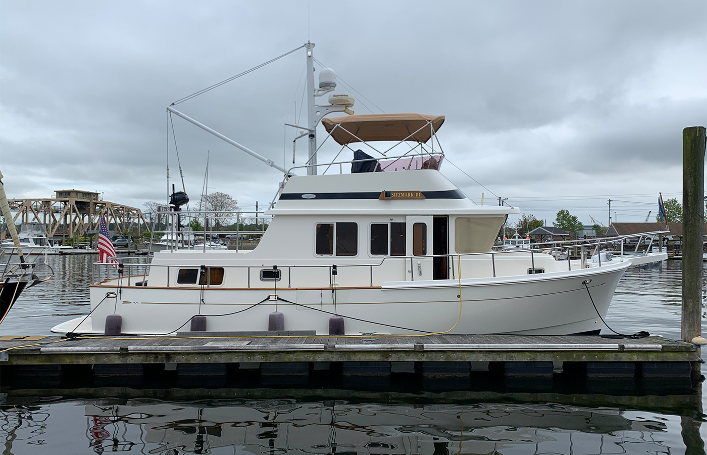 Selene Trawler SITZMARK III Sold By Yacht Broker Chris Davis