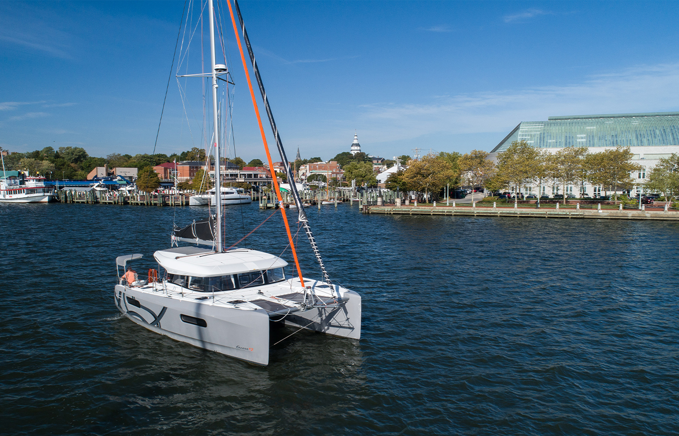 Tour The New Excess 12 Catamaran On Shelter Island