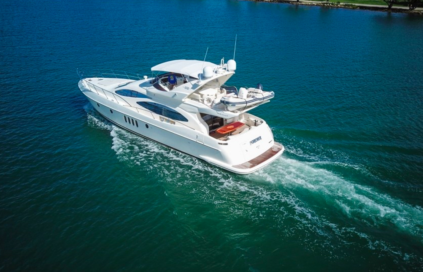 Azimut 68′ FOREVER Sold By Yacht Broker Sidney Ambroise