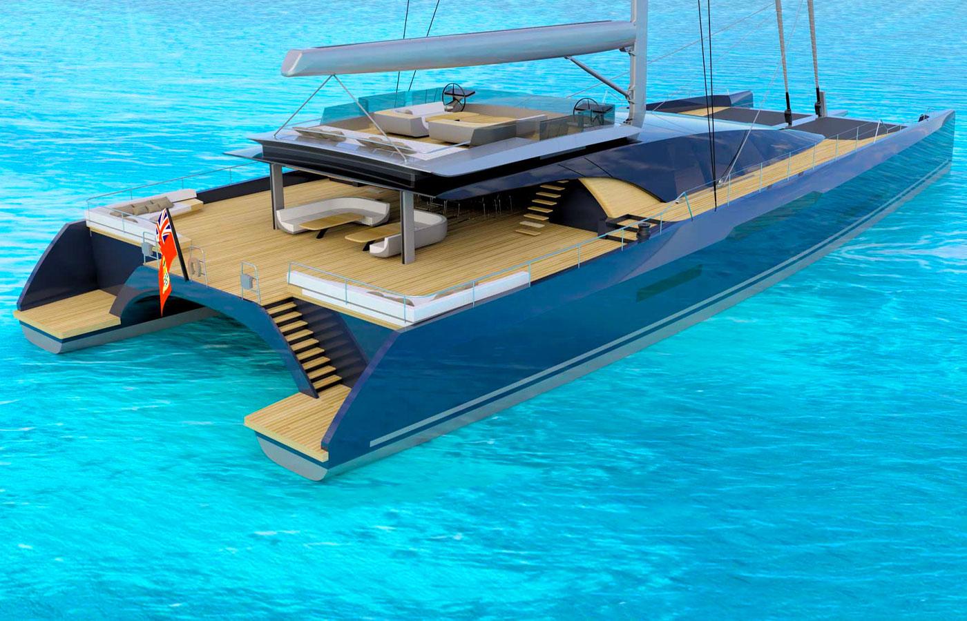 Sunreef Reveals New Multihull Superyacht Concept [MM460 CAT]