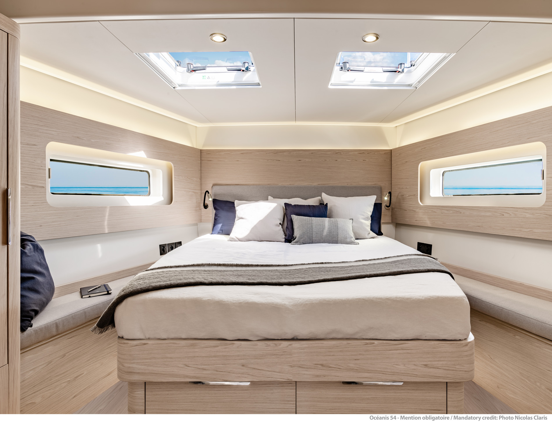 Beneteau Oceanis Yacht 54 — Bright and Spacious Owner Suite
