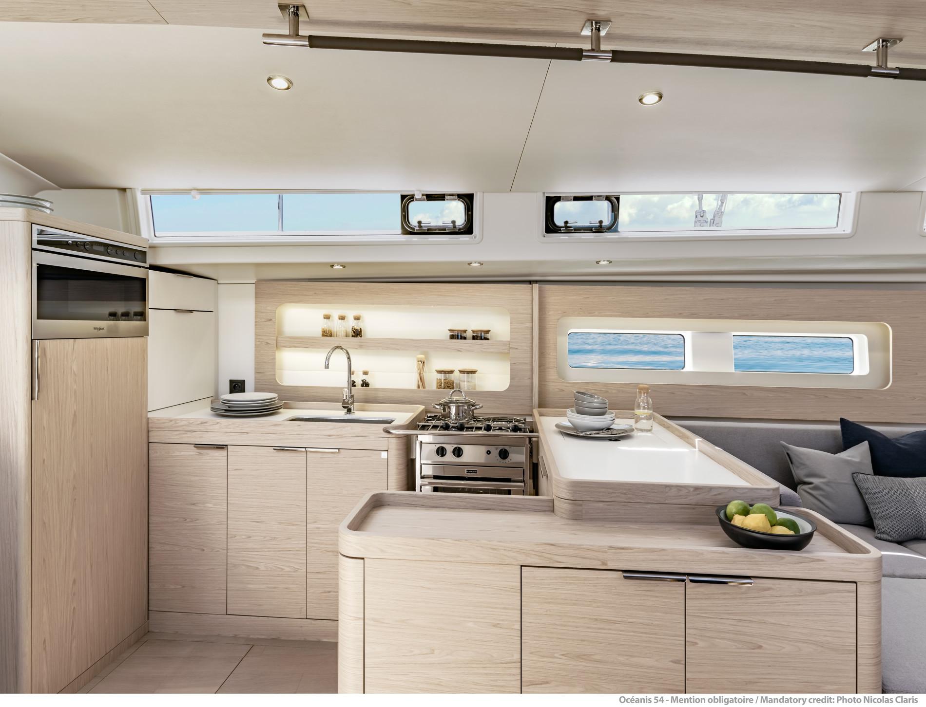 Beneteau Oceanis Yacht 54 — Galley