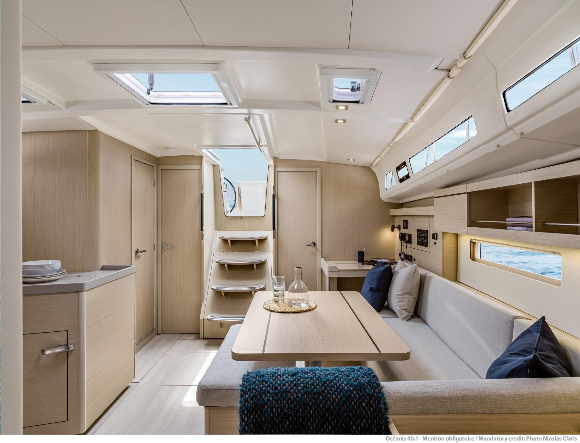 Beneteau Oceanis 40.1 — Interior Design