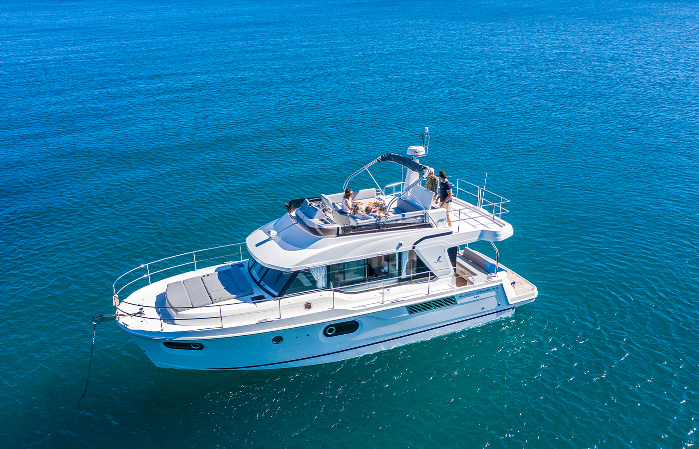 Swift Trawler 41 Delivered [New Boat For Sale]