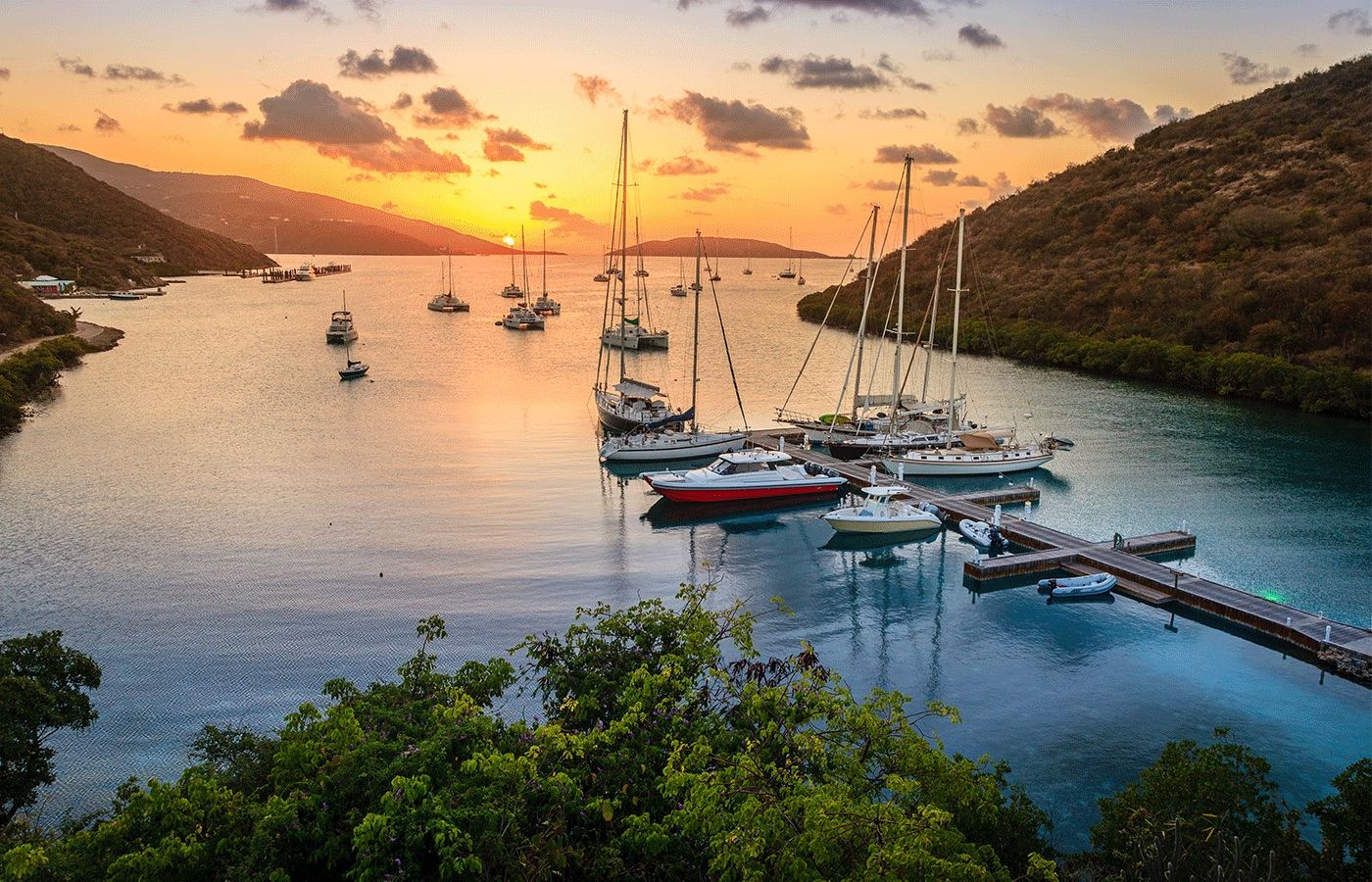 BVI Re-Opening To Tourists + Yacht Charters [COVID-19 Protocol]