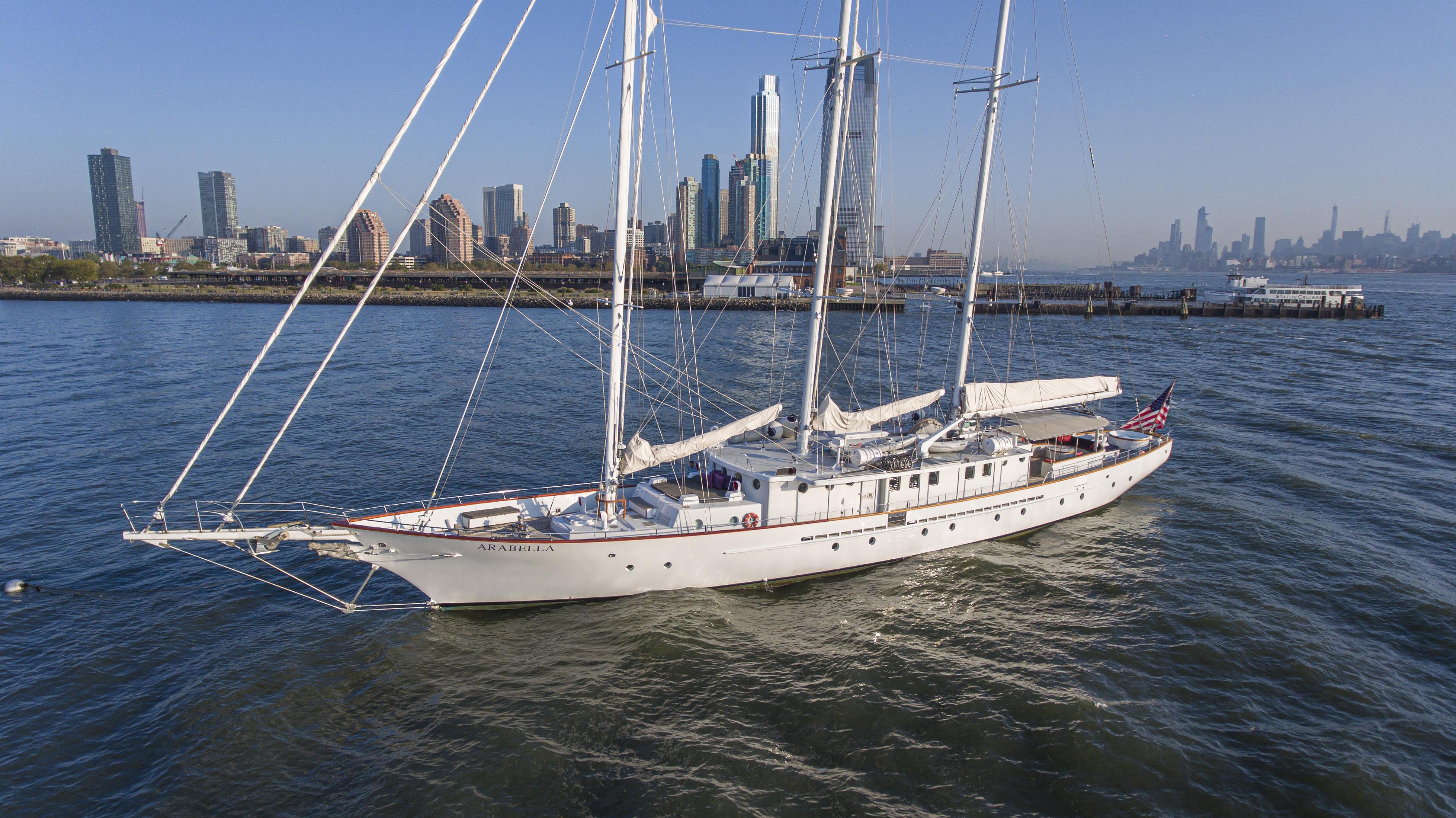 Luxury Yacht Charter: ARABELLA   157' Palmer Johnson 1983  - photo 1