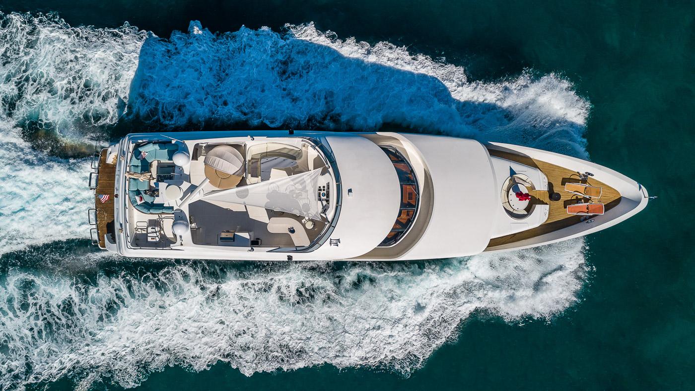 Luxury Yacht Charter: SCOTT FREE | 114' President 2008/2019 - photo 11