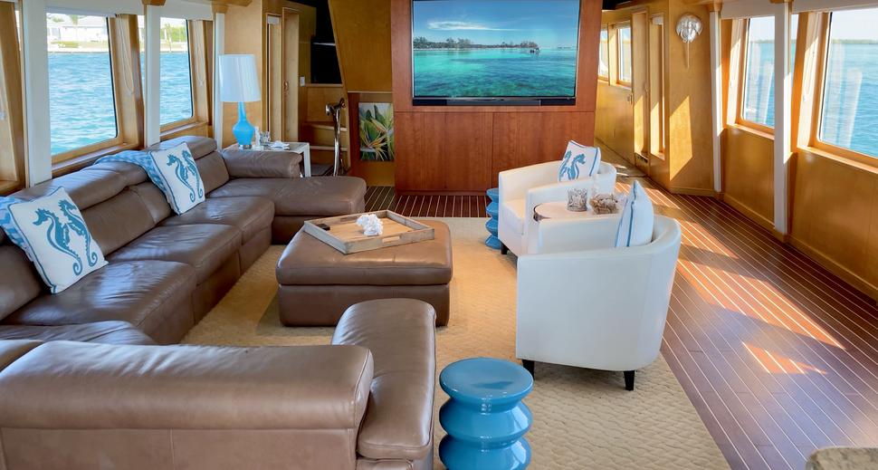 Luxury Yacht Charter: ISLAND VIBES   107' Broward 1997/2019 - photo 3