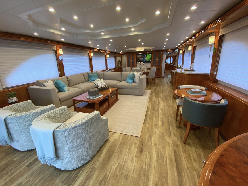 Luxury Yacht Charter: BRANDI WINE | 114' Hargrave 2009/2019  - photo 6