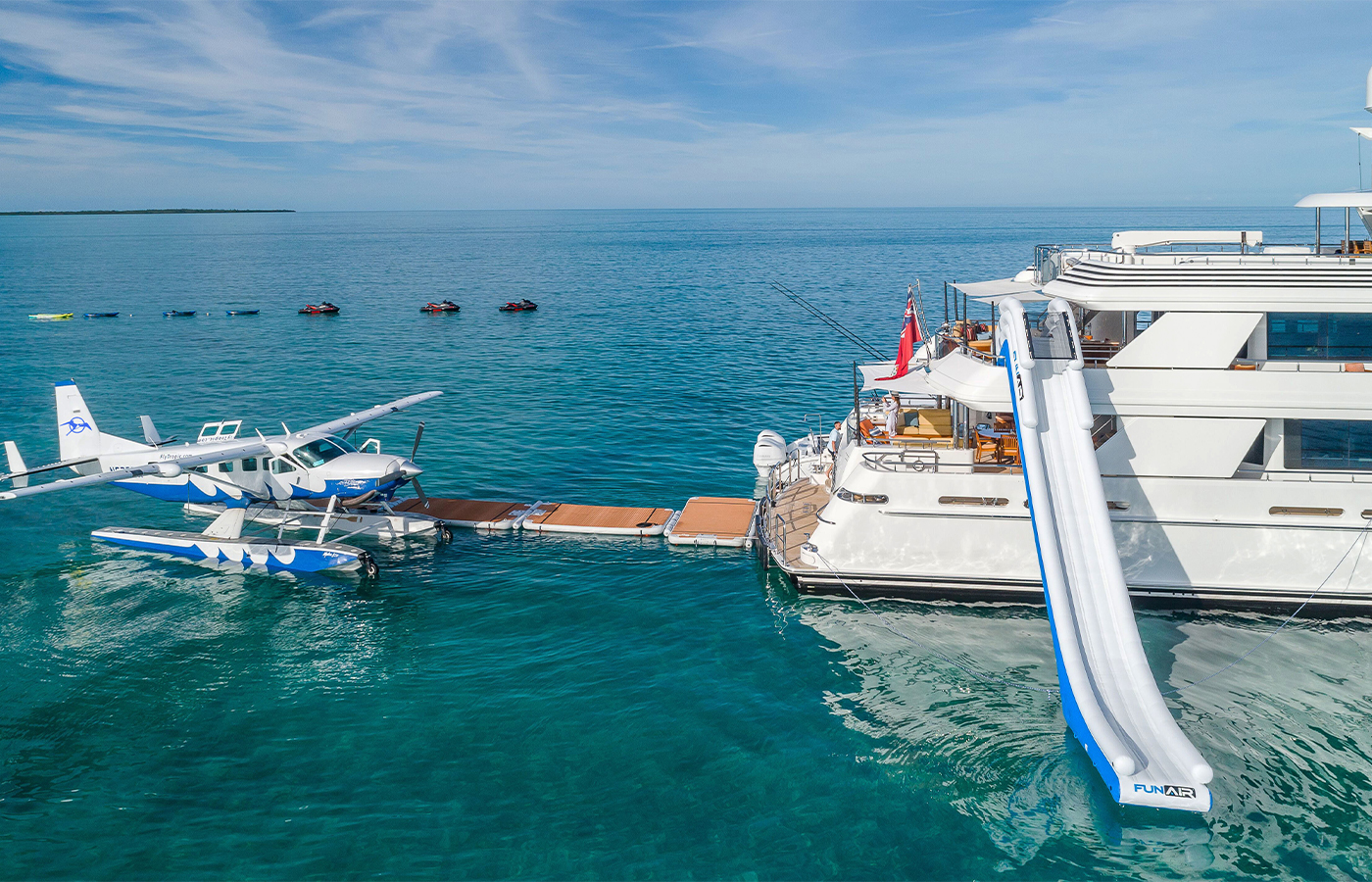 Tropic Ocean Airways Offers A First Class Seaplane Experience For Yacht Charter Guests