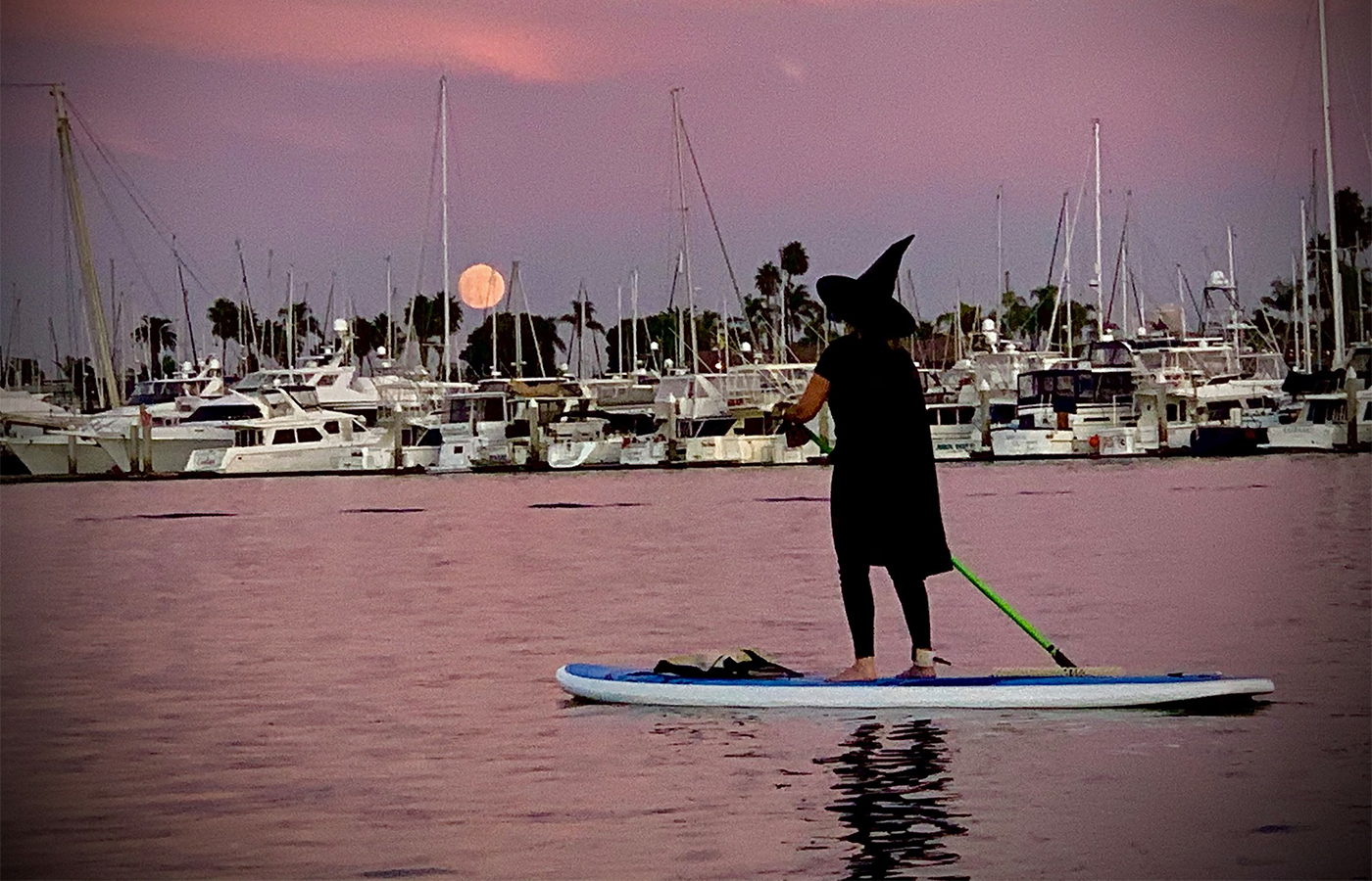 Halloween Witches + Warlocks Paddleboard Food Drive [Event Recap]