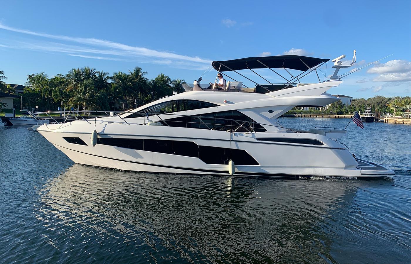 55 Sunseeker Motor Yacht Sold By Jordan Preusz