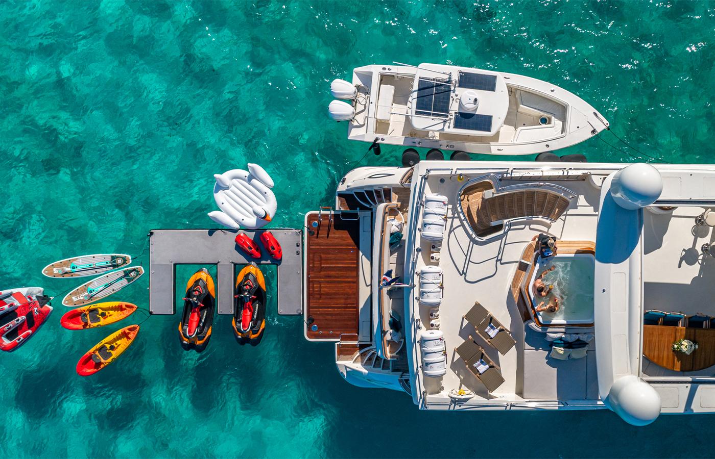 Luxury Yacht Charter: SWEET EMOCEAN | 116' Azimut 2009/2019 - photo 2