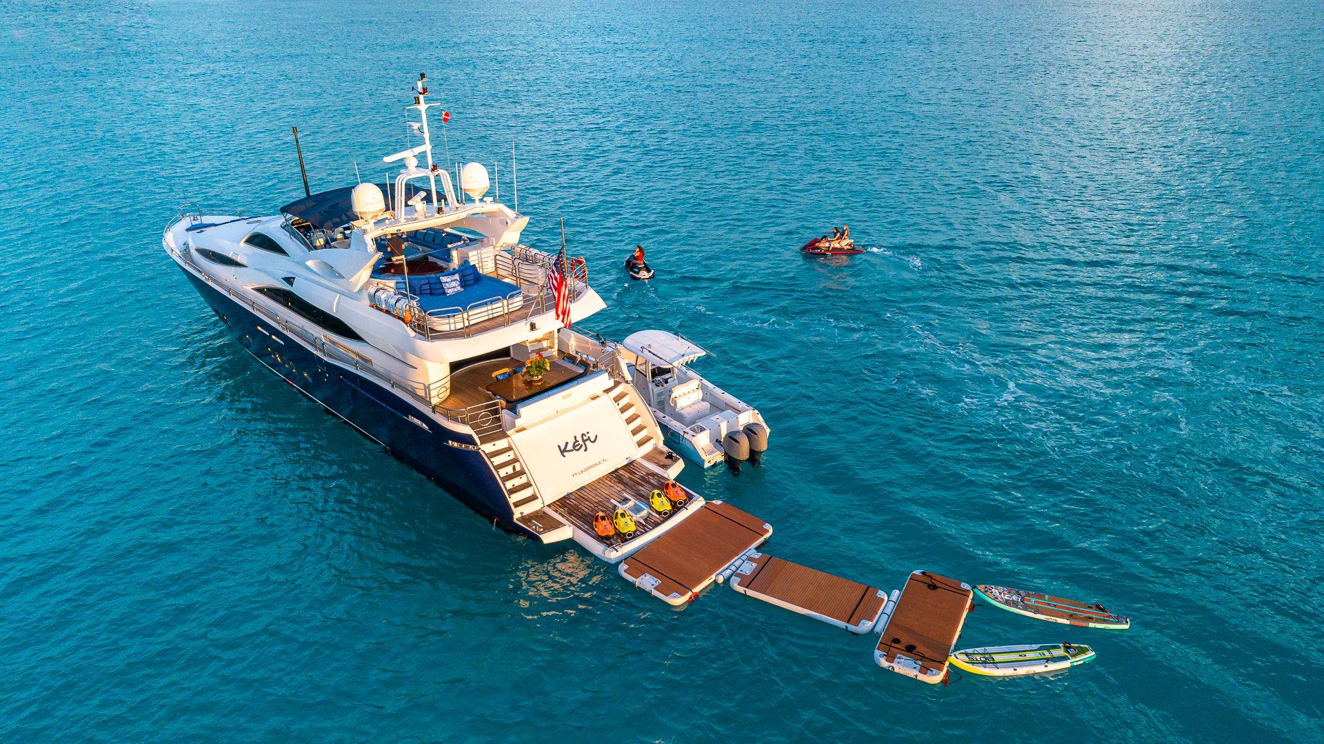Luxury Yacht Charter: KEFI   105' Sunseeker 2004/2018 - photo 4