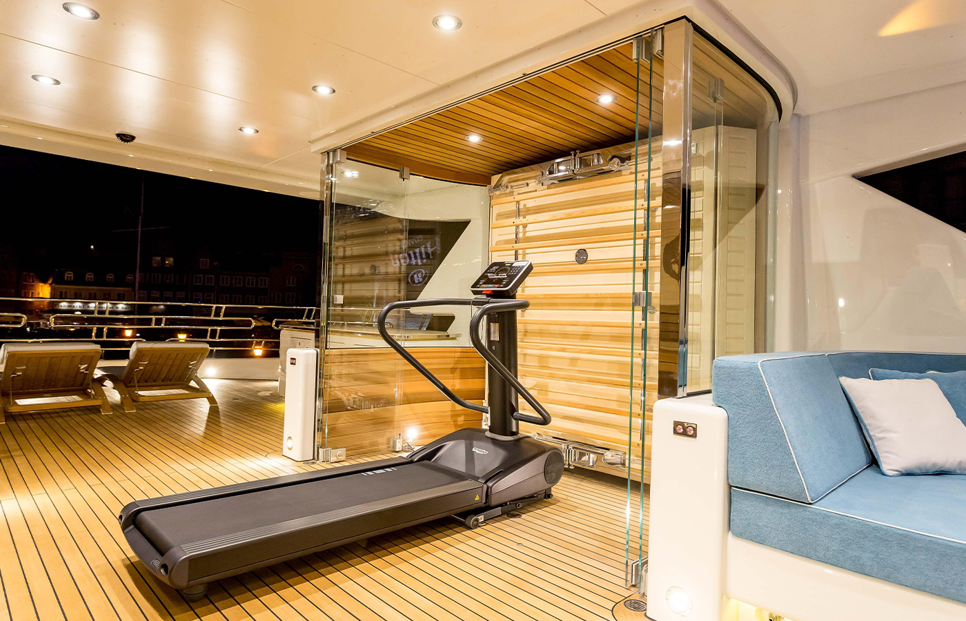 Sauna + Gym