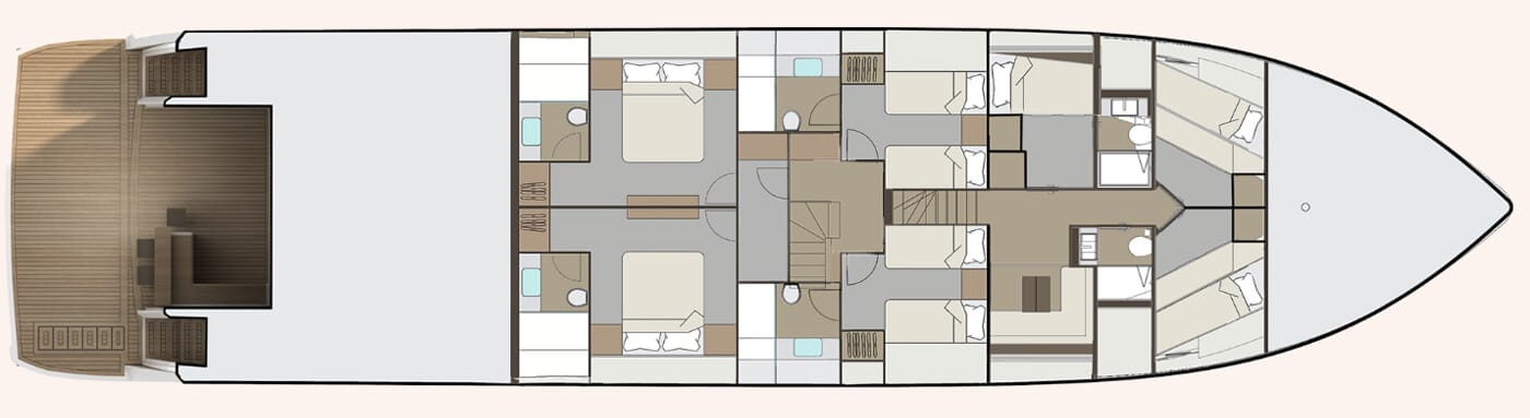 layout of Pearl 95