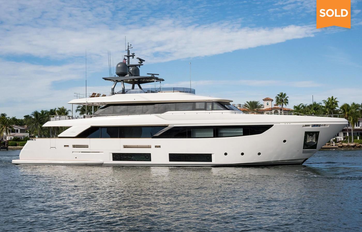 108 Custom Line Superyacht Sold By Bruce Schattenburg