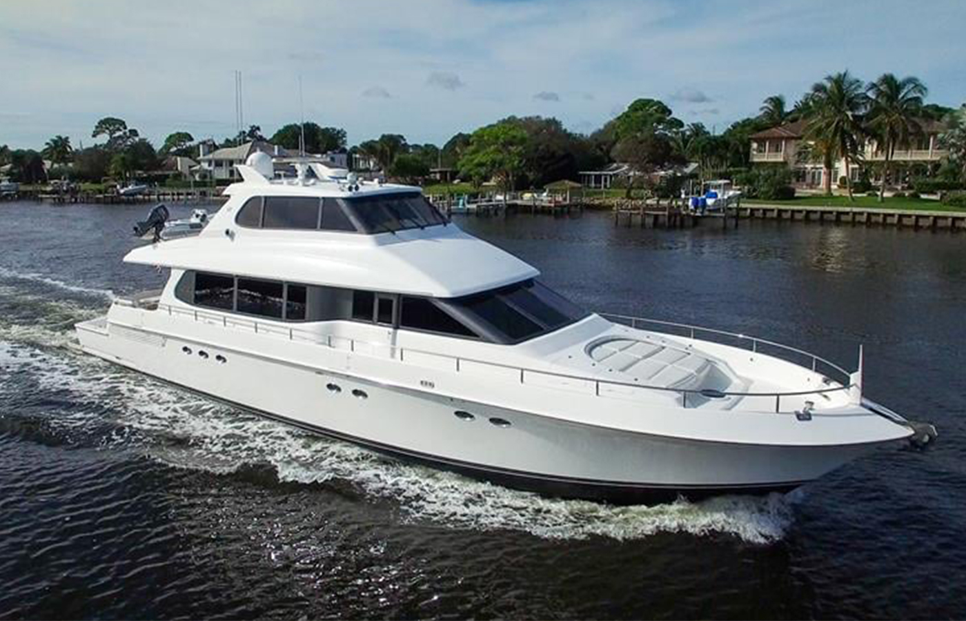 80 Lazzara Motor Yacht 2001 Sold By Brian Ragsdale