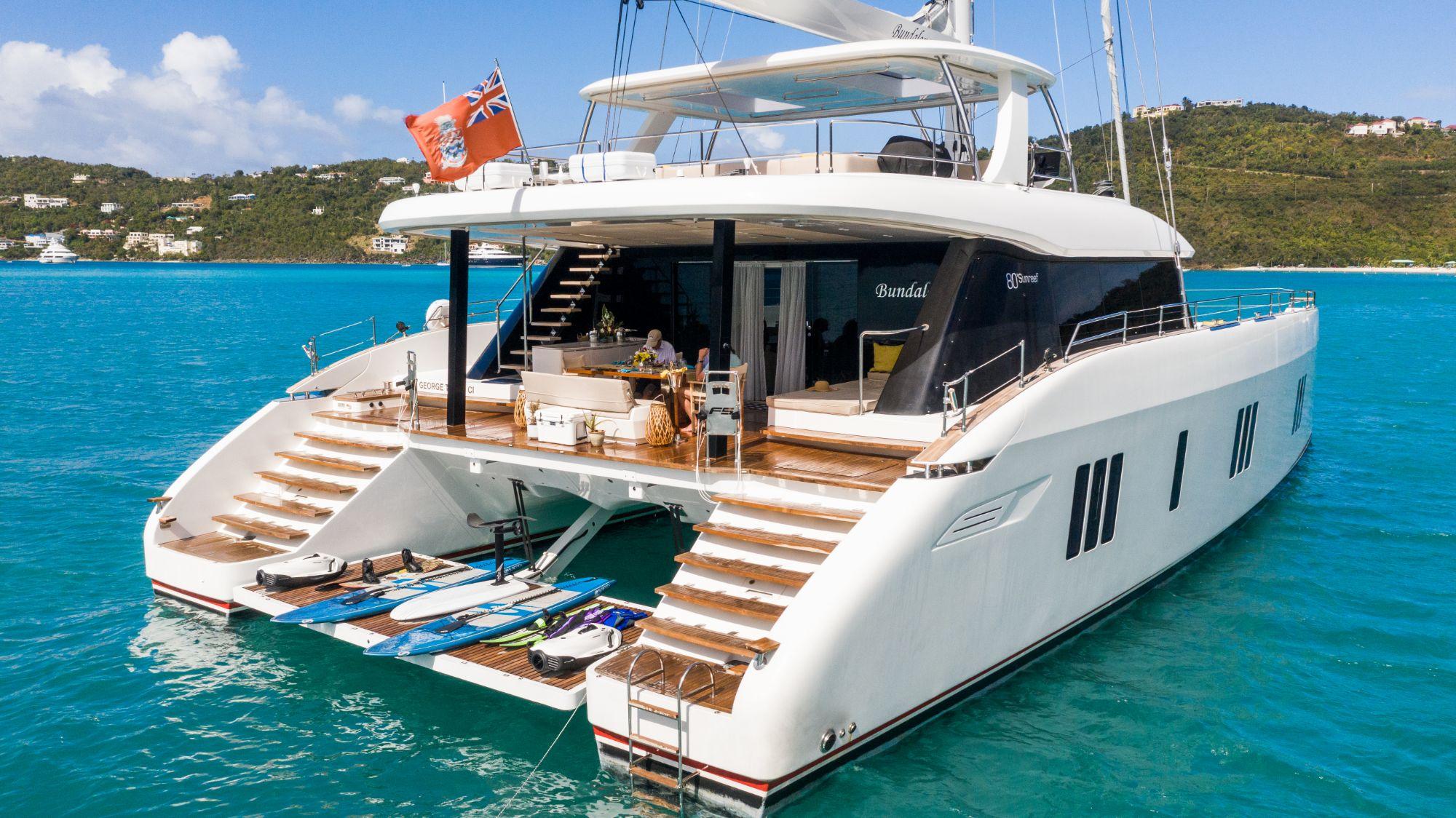 Luxury Yacht Charter: BUNDALONG | 80' Sunreef 2019  - photo 10