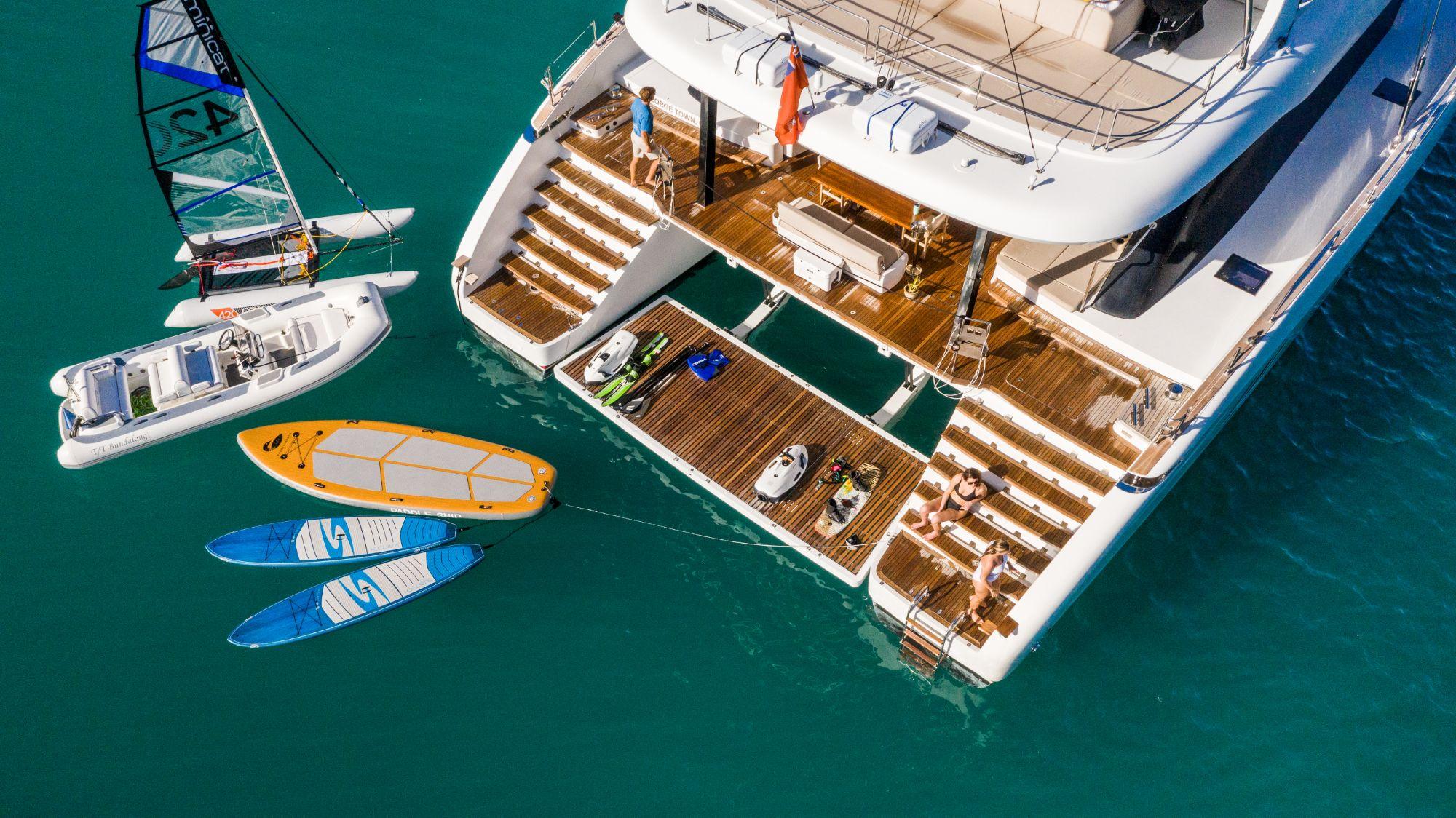 Luxury Yacht Charter: BUNDALONG | 80' Sunreef 2019  - photo 3