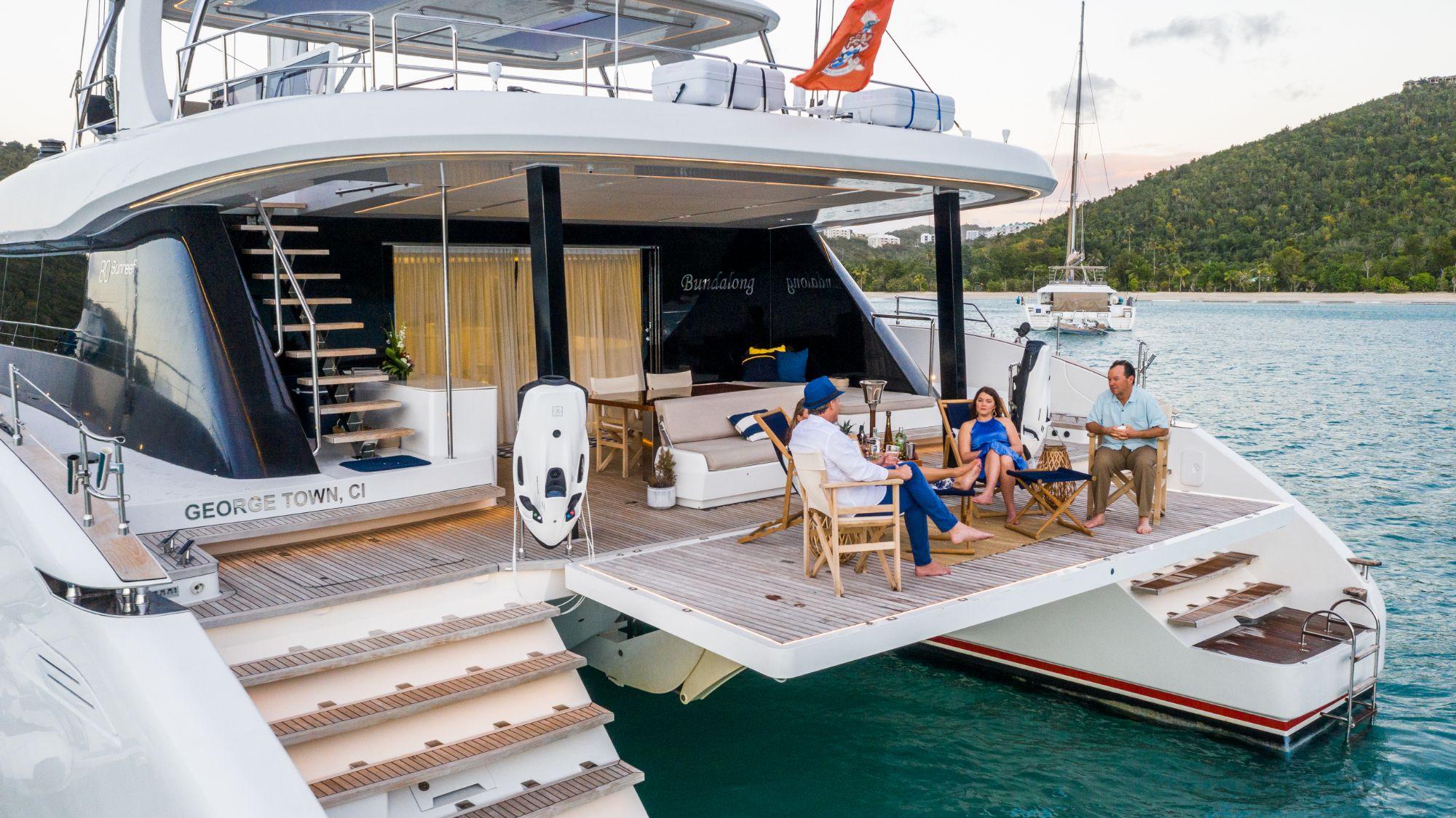 Luxury Yacht Charter: BUNDALONG | 80' Sunreef 2019  - photo 4